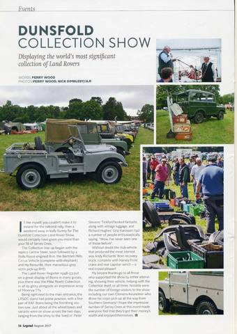 Dunsfold Collection Show