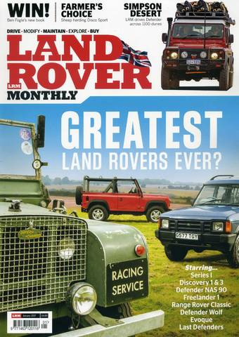 Greatest Land Rovers ever?