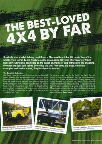 The best-loved 4x4 by far