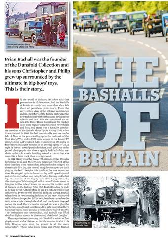 The Bashalls of Britain