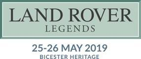 Great News...the wonderful Land Rover Legends show is back for 2019!