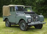 We are delighted to welcome our friends from the Land Rover Series One Club to the Show!