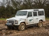 Last chance for off-road demonstration drives in the Defender!